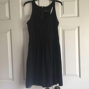 Cynthia Rowley racerback black dress